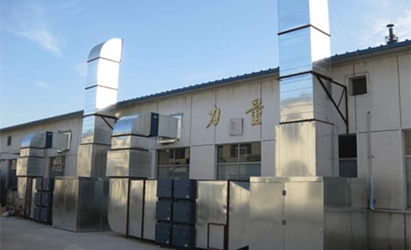 食品加工厂低噪音排烟厨房设备工程案例