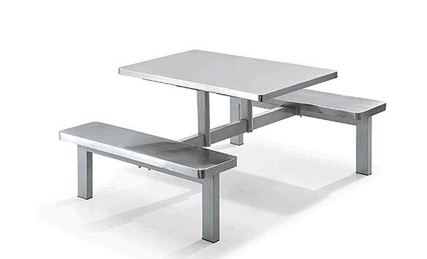 不锈钢四人餐桌厨具